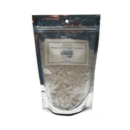 White Rock Sugar Crystals