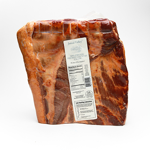 Applewood Smoked Country Bacon Slab