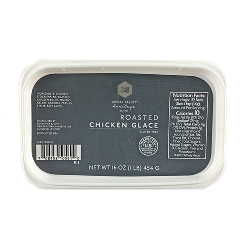 Frozen Roasted Chicken Glace