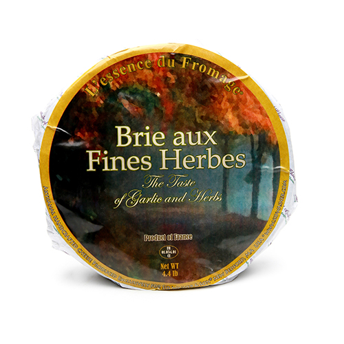 Brie with Herbs