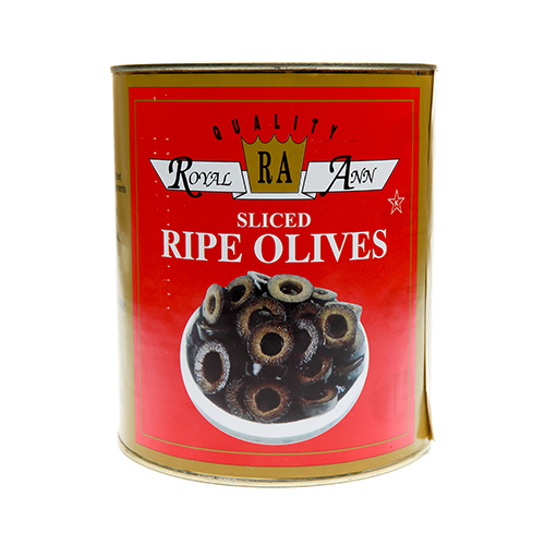 Black Sliced Olives
