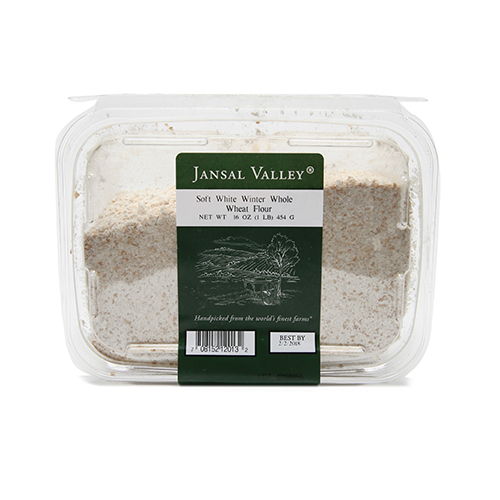 Local Soft White Winter Whole Wheat Flour