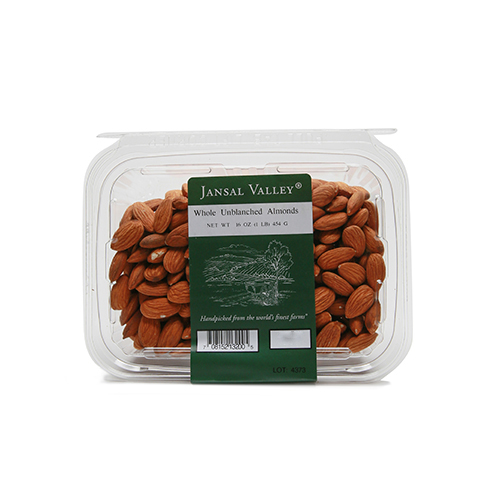 Whole Unblanched Almonds