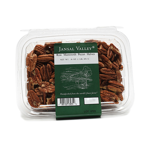 Raw Mammoth Pecan Halves