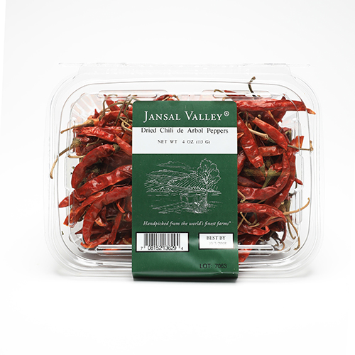 Dried Chili de Arbol Peppers