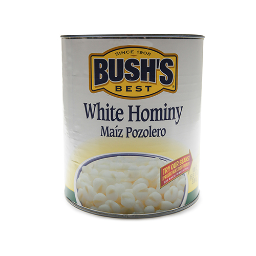 Canned White Hominy