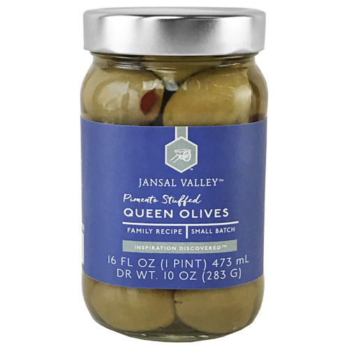 Pimento Stuffed Queen Olives