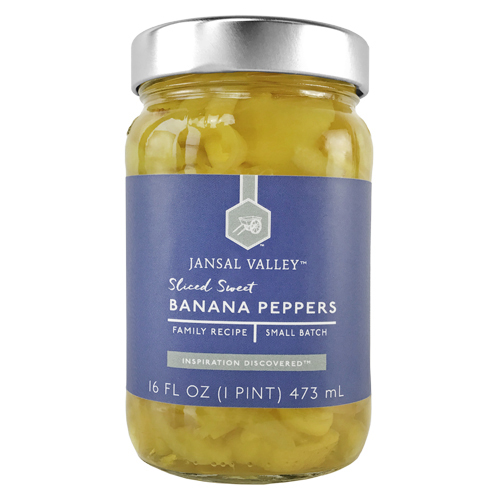 Sliced Sweet Banana Peppers