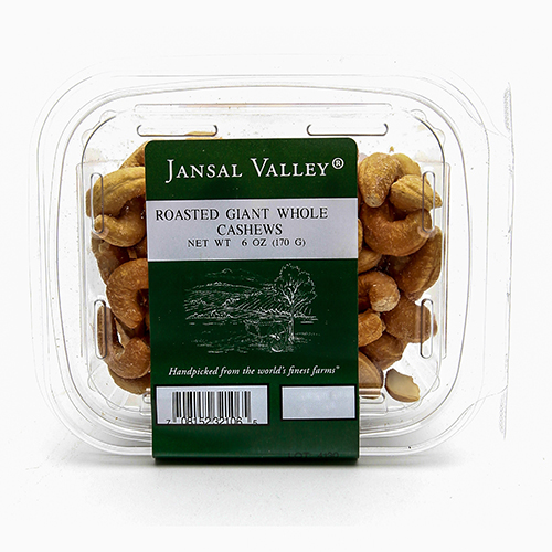 Roasted Giant Whole Cashews