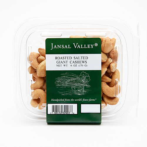Roasted Salted Giant Cashews
