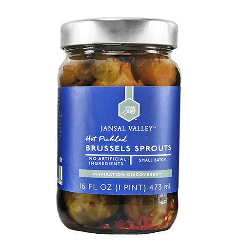 Hot Pickled Brussels Sprouts