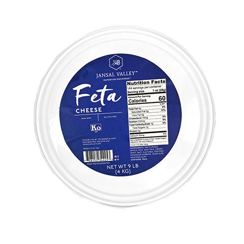 Organic Domestic Feta Cheese
