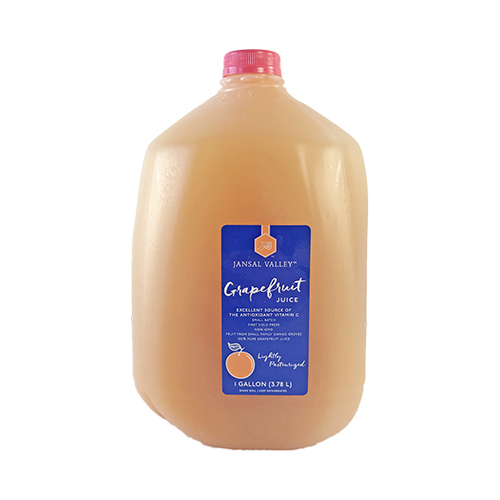 Grapefruit Juice (Lightly Pasteurized)