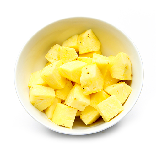 Fresh-Cut Pineapple Chunks